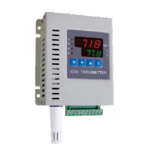 FCT4700 LED雙顯示三機一體型二氧化碳+溫溼度偵測傳送器